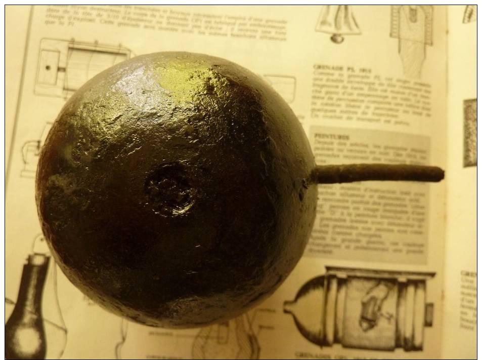 Grenade éclairante 1er Modèle 1914 Ww1 Neutra ! - 1914-18