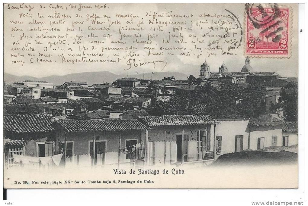 CUBA - Vista De Santiago - Cuba