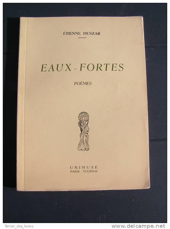 Eaux Fortes - Etienne Huszar - 1956 - Belgium