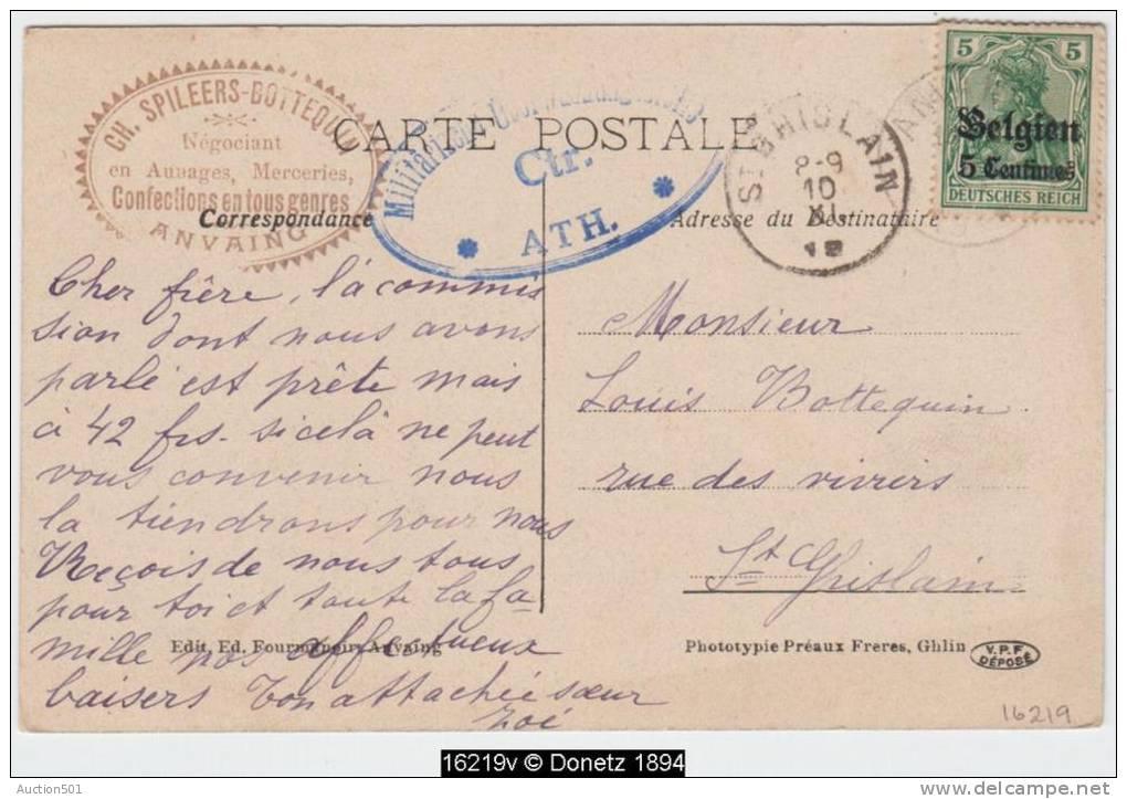 16219g LA POSTE - Anvaing - Frasnes-lez-Anvaing