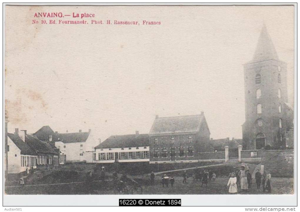 16220g LA PLACE - Anvaing - 1910 - Frasnes-lez-Anvaing