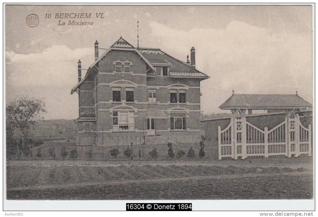 16304g VILLA - La Moderne - Berchem VL - 1924 - Kluisbergen