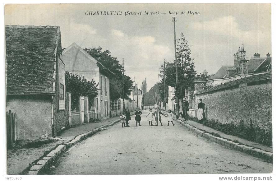 CHARTRETTES - Route De Melun - Autres Communes