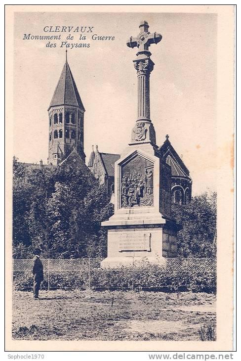GRAND DUCHE DU LUXEMBOURG - LETZEBOURG - CLERVAUX - Monument De La Guerre Des Paysans - Clervaux