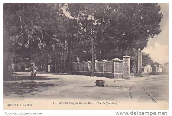 Africa Sudan Avenue Borgnis-Desbordes Kayes - Sudan
