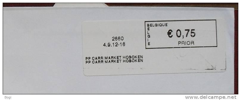 België 2012 PP Carr Market Hoboken 2660 - Frankeervignetten