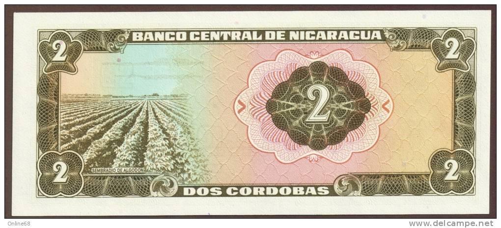 NICARAGUA 2 Córdobas D. 27.04.1972 Serie C 39685295 P# 121 - Nicaragua