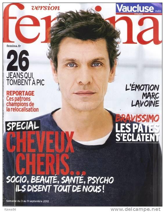 "Marc Lavoine  ""  Fémina  "" - People"