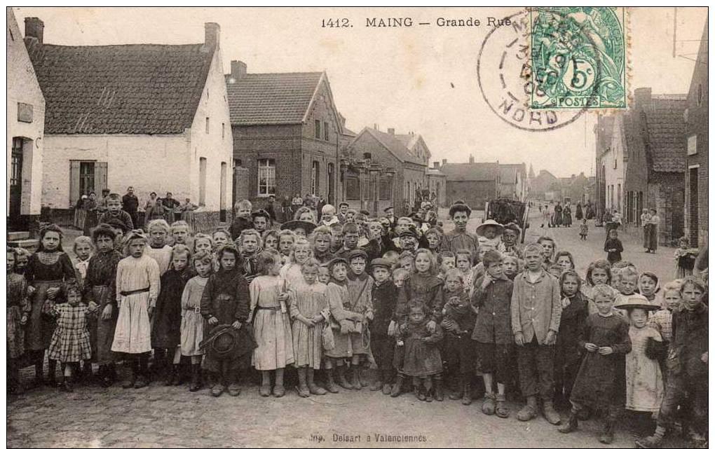 MAING - Grande Rue - Autres Communes