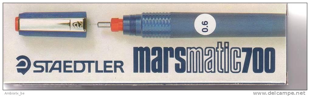 Stylo Staedtler Marsmatic 700 Plume 0.6 - Stylos
