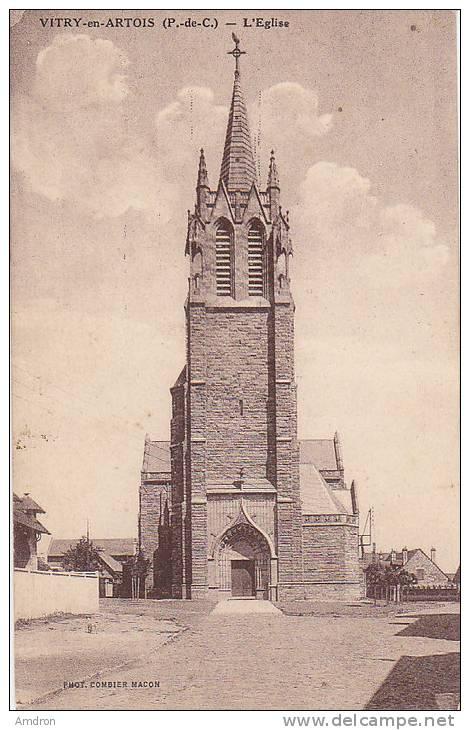(XXII) Vitry En Artois - L'église - Vitry En Artois