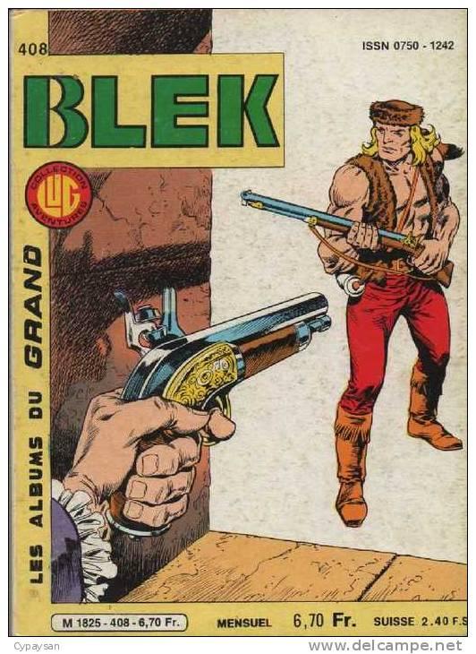 BLEK LE ROC N° 408 BE LUG 12-1984 - Blek