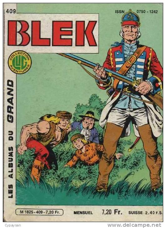 BLEK LE ROC N° 409 BE LUG 01-1985 - Blek