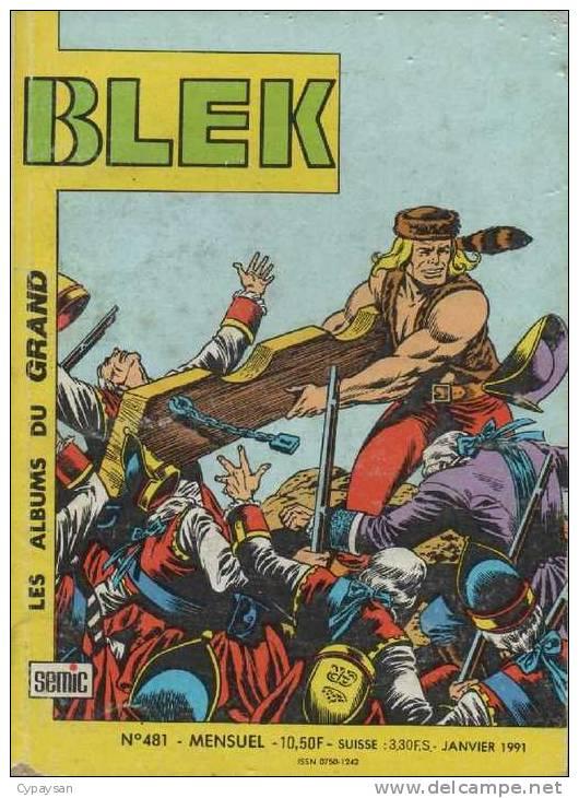 BLEK LE ROC N° 481 BE SEMIC 01-1991 - Blek
