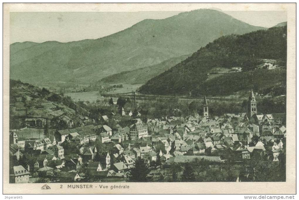 CPSM MUNSTER (Haut Rhin) - Vue Générale - Munster