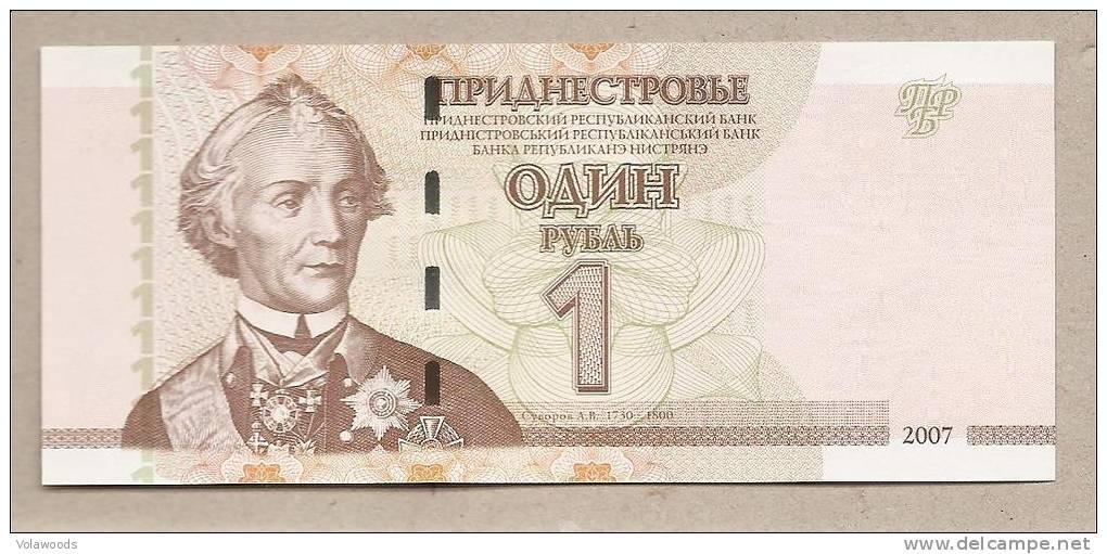 Transnistria - Banconota Non Circolata Da 1 Rublo - 2007 - Moldova