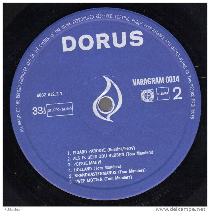 * LP *  DORUS (Holland 1972) - Humor, Cabaret