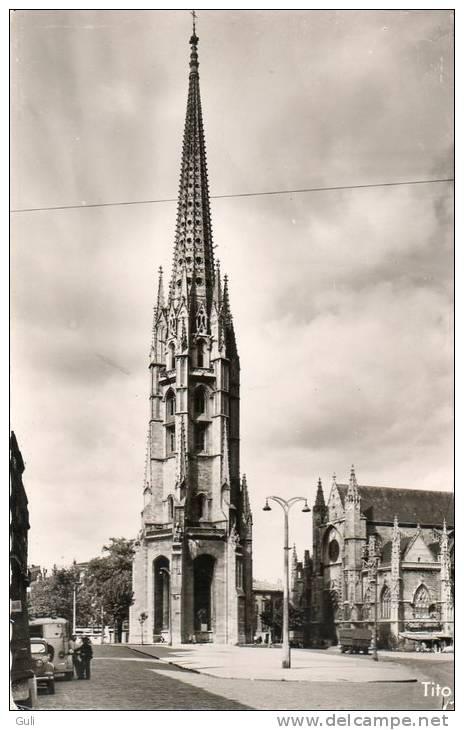 33 Gironde-BORDEAUX - Eglise St Saint Michel - Lot De 2 Cartes  (religion)   *PRIX FIXE. - Bordeaux