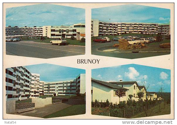 91 - Brunoy : Multivues - CPM écrite - Brunoy
