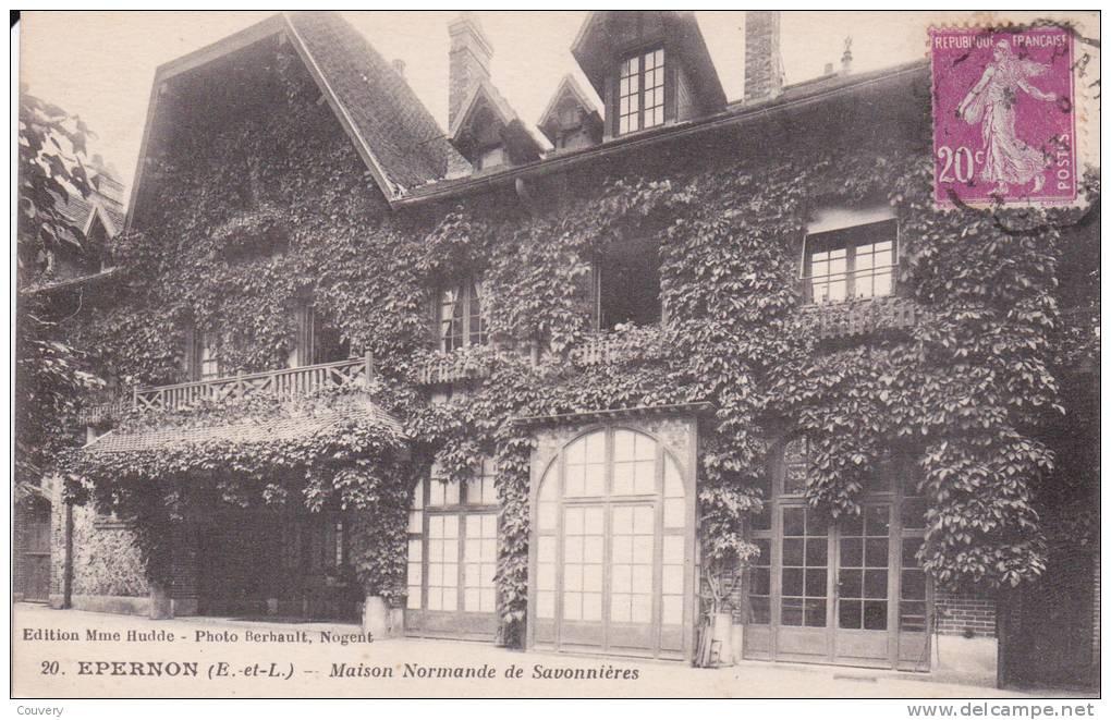 CPA 28  EPERNON ,Maison Normande De SAVONNIERES. (1933) - Other Municipalities