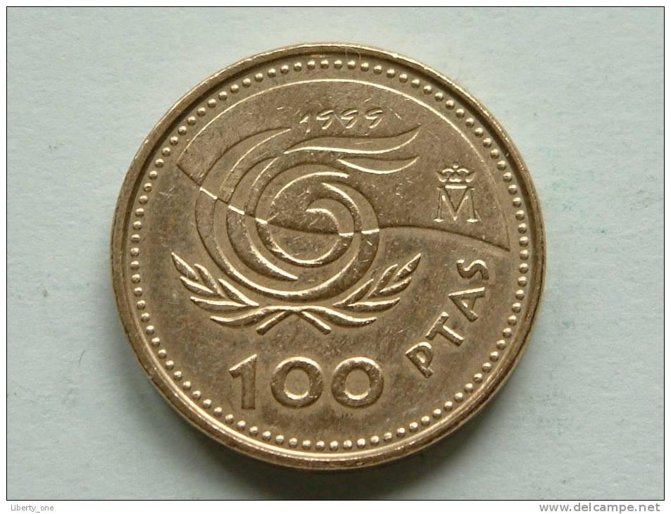 1999 - 100 Pesetas / KM 1006 ( Uncleaned - For Grade, Please See Photo ) ! - 100 Pesetas