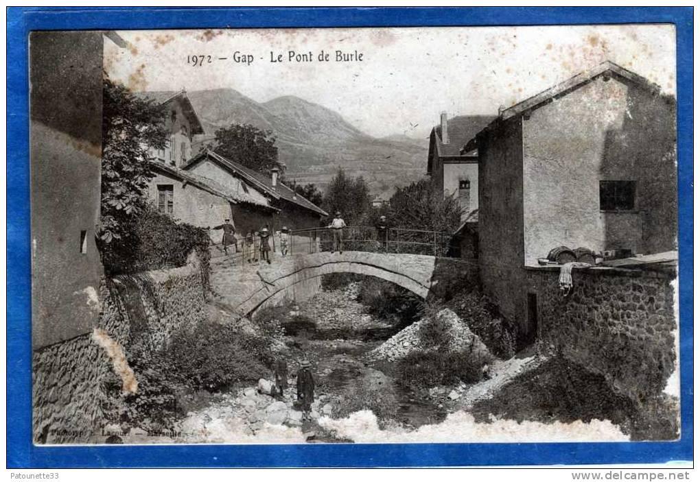 05 GAP LE PONT DE BURLE PUB CHOCOLAT LOUIT - Gap