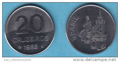 * BRESIL *beau Petit Lot De 4 Pièces Années Différentes *pièces Scannées Recto Verso* LOT N° 10014 - Brésil