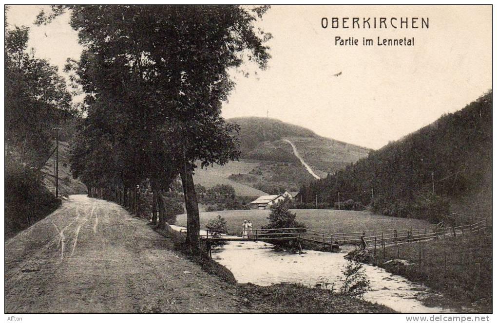 Oberkirchen Partie In Lennetal 1905 Postcard - Non Classés