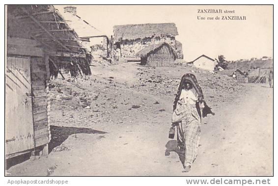 Tanzania Zanzibar Street Scene - Tanzania