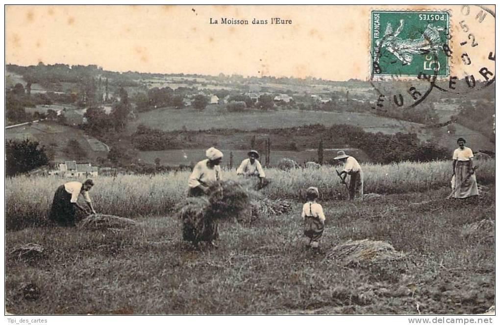 27 - La Moisson Dans L'Eure - France