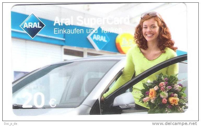 Germany - Allemagne - Aral -  Petrol Station - Carte Cadeau - Carta Regalo - Gift Card - Geschenkkarte - Gift Cards