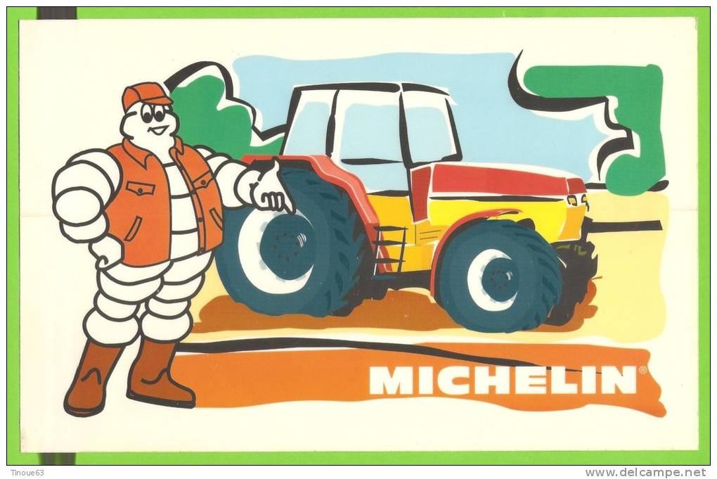 AUTOCOLLANT MICHELIN (Tracteur, Pneus Agricoles) - Stickers