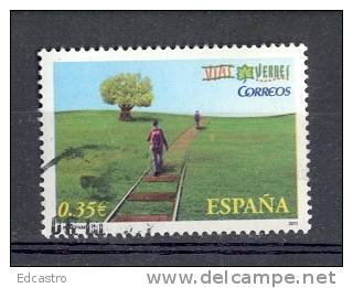4.- ESPAÑA  2011. SELLO USADO VIAS VERDES - 1931-Today: 2nd Rep - ... Juan Carlos I