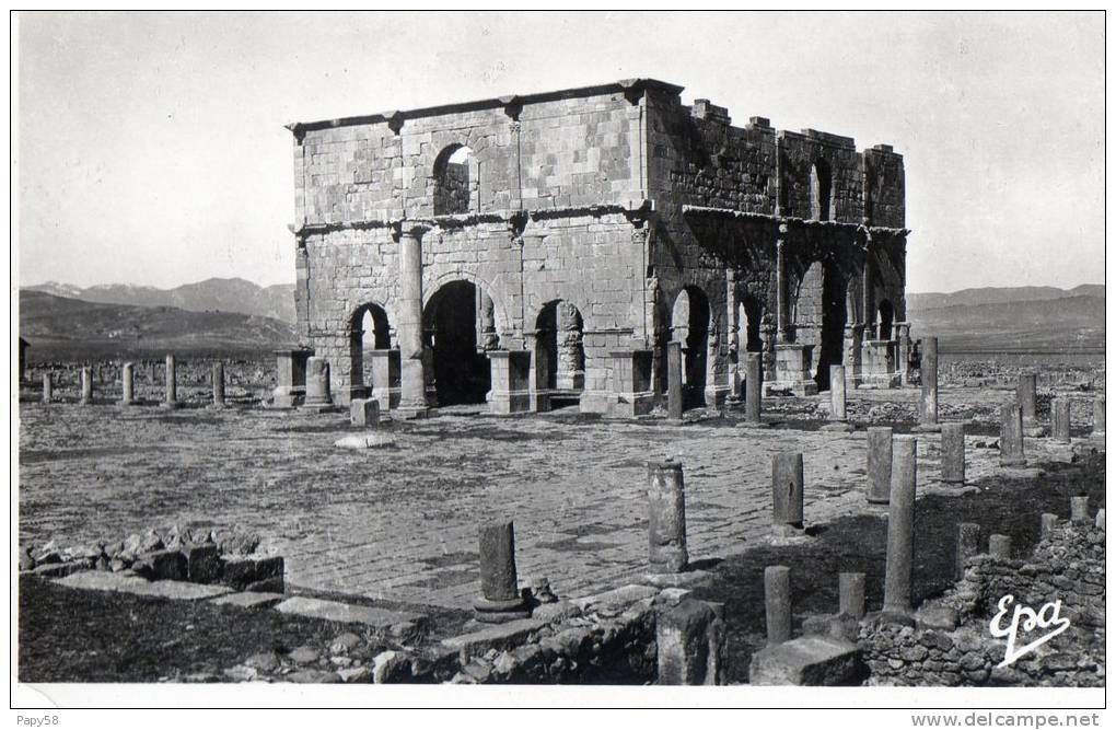 Algérie > Villes > Autres Villes Lambese Ruines Romaines Le Pretorium - Autres Villes
