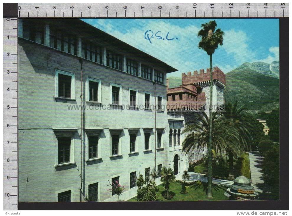 R3827 CARRARA ACCADEMIA DI BELLE ARTI Scritta QSL - Carrara