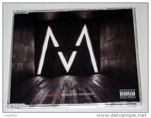 MAROON 5 Makes Me Wonder /// CD Single Neuf - Rock