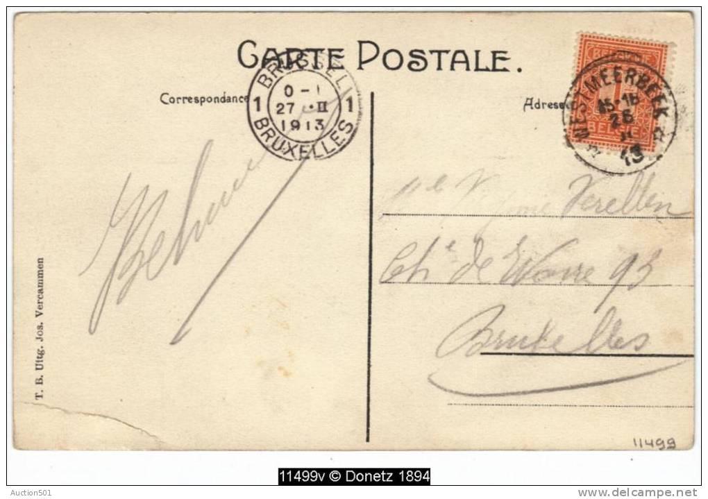 11499g FONTAINE - HOTEL De Ster - Kerkplein - 19013 - Hulshout