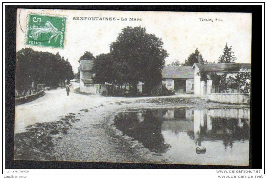 52 - SEXFONTAINES - LA MARE - France