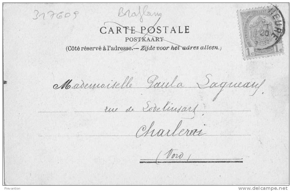 ASSCHE - Villa Rue De La Station - Circulée En 1908 - Asse