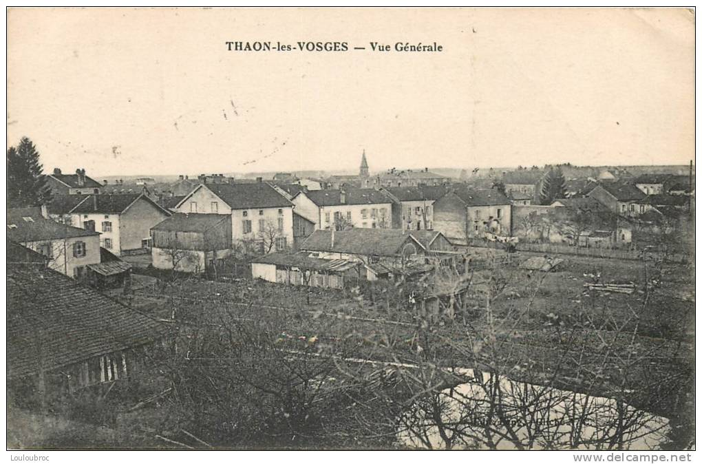 88 THAON LES VOSGES VUE GENERALE - Thaon Les Vosges