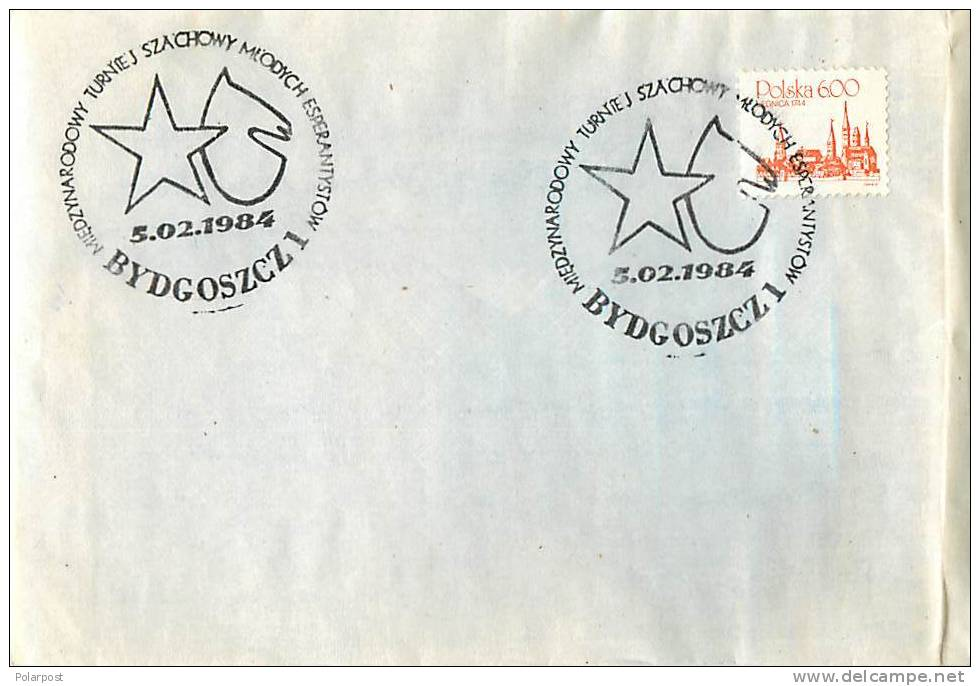 #. POLAND 1984. CHESS - Scacchi