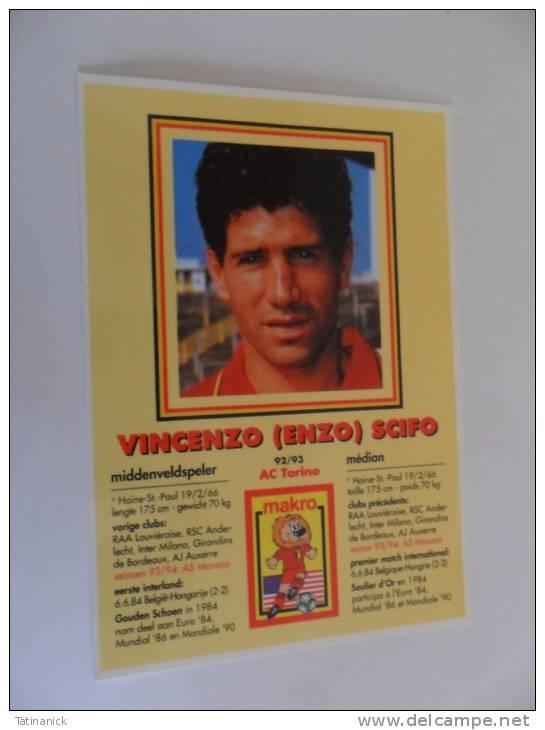 Vincenzo Scifo 92/93 Ac Torino - Sportifs
