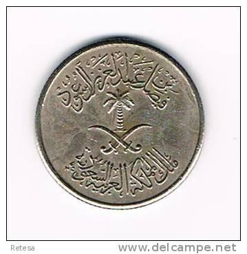 SAUDI  ARABIA  10  HALALA  1392 - Arabie Saoudite