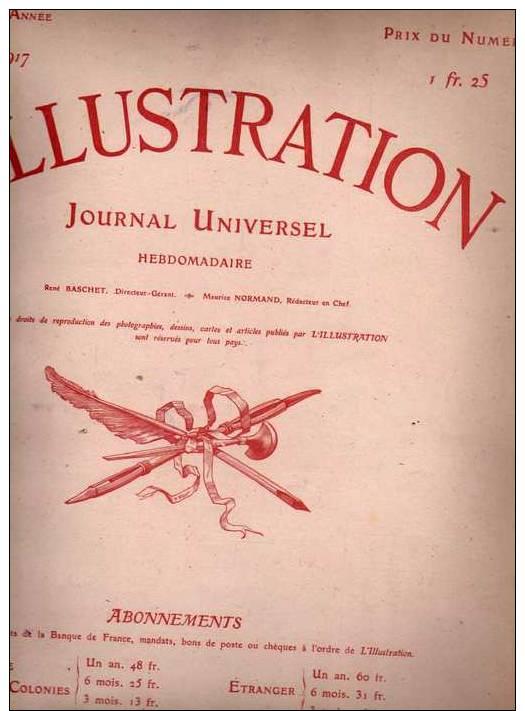 L'Illustration Du 8 Septembre 1917 - Journaux - Quotidiens