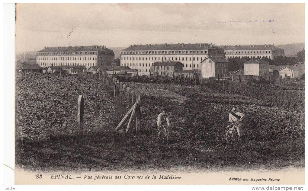 Dép. 88 - EPINAL. - Vue Générale Des Casernes De La Madeleine. Animée - Epinal