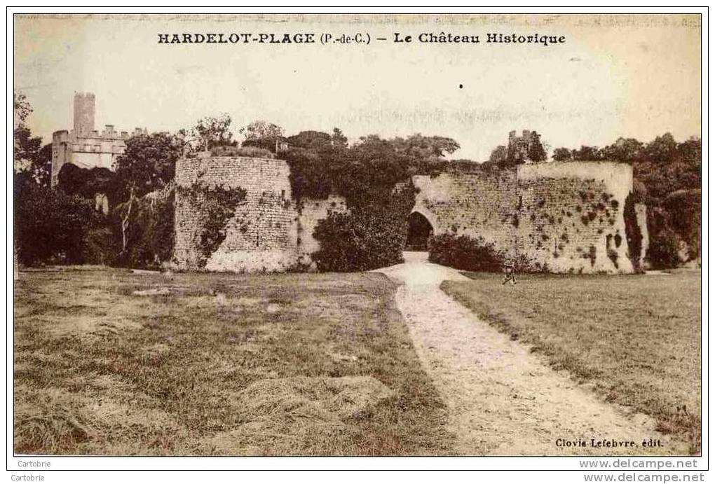 62 HARDELOT-PLAGE - Le Château Historique - France