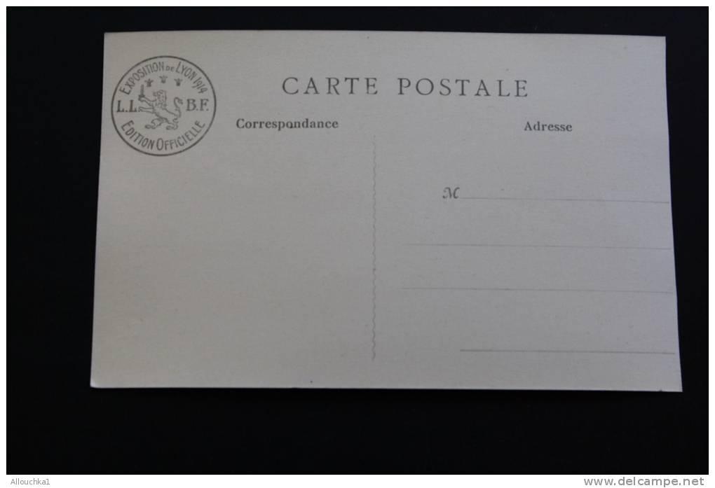 """Mai 1914 Exposition Internationale à Lyon:manufacture De Sèvres >édition B. F. Paris"""" Lux"""" - Expositions"""