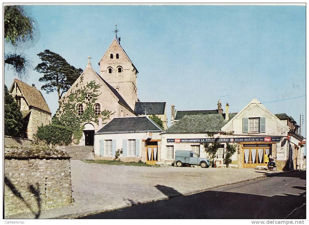 922 BAZAINVILLE La Place De L'église - Autres Communes