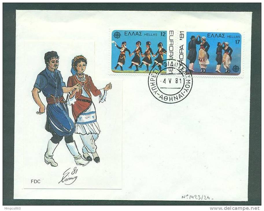 Europa 1981 Sur Enveloppe Illustrée Du 4.5.81 - FDC