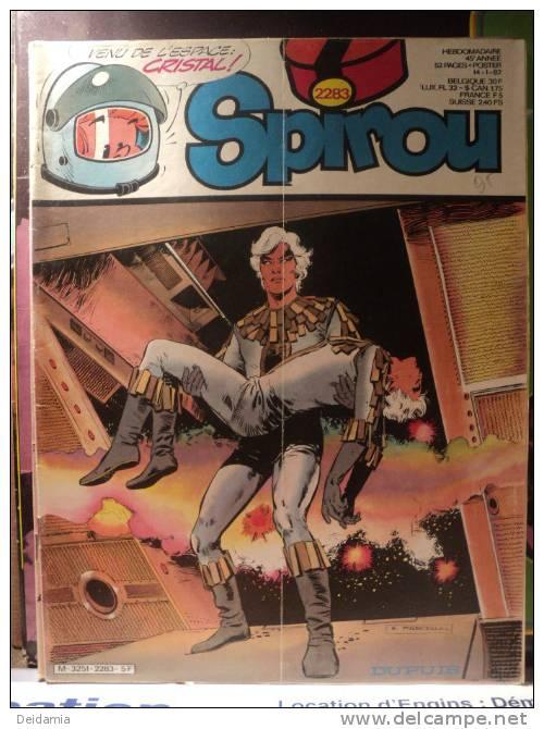 *SPIROU N°2283 DU 14 JANVIER 1982. 1° PLAT DE MARCELLO - Spirou Magazine